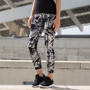 Women's reversible work-out leggings